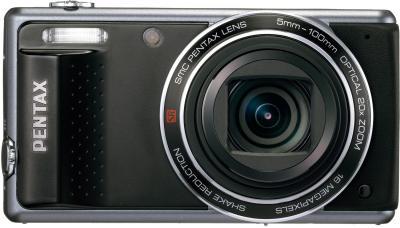 Компактный фотоаппарат Pentax Optio VS20 (Black) - вид спереди