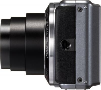 Компактный фотоаппарат Pentax Optio VS20 (Black) - вид сбоку