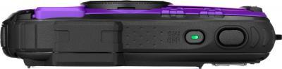 Компактный фотоаппарат Pentax Optio WG-1 (Purple) - вид сверху