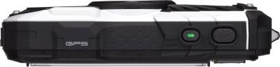 Компактный фотоаппарат Pentax Optio WG-2 GPS (White-Black) - вид сверху