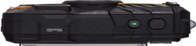 Компактный фотоаппарат Pentax Optio WG-2 GPS (Orange-Black) - вид сверху