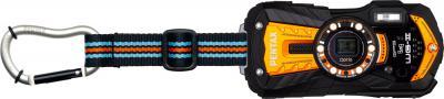 Компактный фотоаппарат Pentax Optio WG-2 GPS (Orange-Black) - общий вид