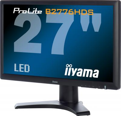 Монитор Iiyama ProLite B2776HDS-B1 - общий вид