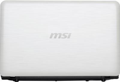 Ноутбук MSI U270-471XBY (White) - общий вид