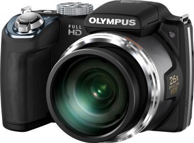 Компактный фотоаппарат Olympus SP-720UZ (Black) - общий вид