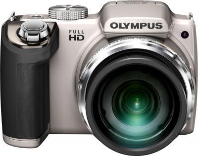 Компактный фотоаппарат Olympus SP-720UZ (Silver) - общий вид