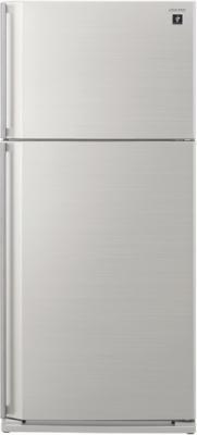 Холодильник с морозильником Sharp SJ-SC55PVSL - общий вид