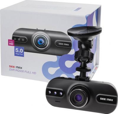 Автомобильный видеорегистратор SeeMax DVR RG500 - с коробкой