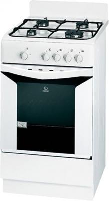 Кухонная плита Indesit K1G2007S(W) - общий вид