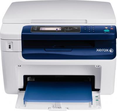 Мфу Xerox WorkCentre 3045B - фронтальный вид (открытый лоток)