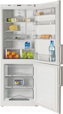 Холодильник с морозильником ATLANT ХМ 4521-000-N - камеры хранения