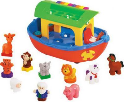 Развивающая игрушка Kiddieland Ноев ковчег (031880) - общий вид