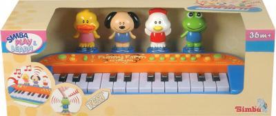 Музыкальная игрушка Simba Пианино Веселая ферма 4012799 - упаковка