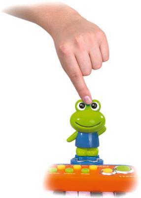 Музыкальная игрушка Simba Пианино Веселая ферма 4012799 - лягушка
