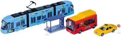 Детская игрушка Dickie Набор городского транспорта (3314283) - общий вид