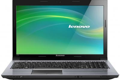 Ноутбук Lenovo IdeaPad V570 (59352202) - фронтальный вид