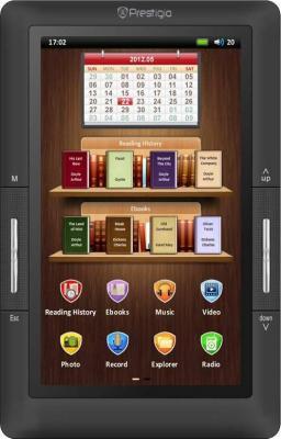 Электронная книга Prestigio PER3274B (microSD 8Gb) - общий вид