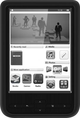Электронная книга Prestigio PER3464BC (microSD 8Gb) - общий вид