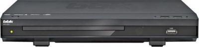 DVD-плеер BBK DVP155SI  Dark Gray - вид спереди