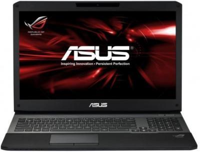 Ноутбук Asus G75VW-9Z255H - фронтальный вид