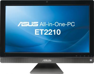 Готовое рабочее место Asus EeeTop PC ET2210IUTS-B016C - фронтальный вид