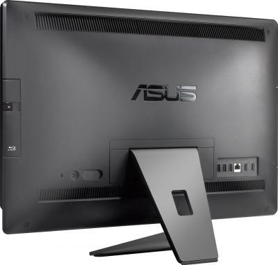 Готовое рабочее место Asus EeeTop PC ET2210IUTS-B016C - вид сзади