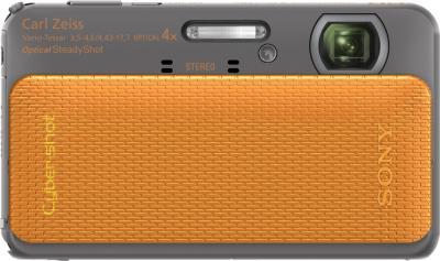 Компактный фотоаппарат Sony Cyber-shot DSC-TX20 (Orange) - общий вид