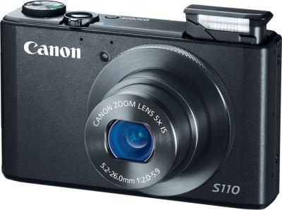 Компактный фотоаппарат Canon PowerShot S110 Black - общий вид