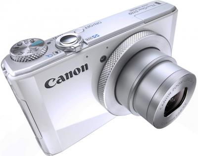 Компактный фотоаппарат Canon PowerShot S110 Silver - общий вид