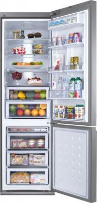 Холодильник с морозильником Samsung RL57TTE5K1 - внутренний вид