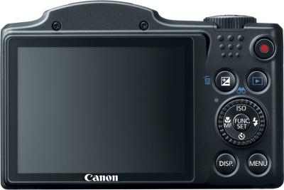 Компактный фотоаппарат Canon PowerShot SX500 IS - вид сзади