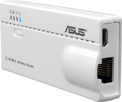 Беспроводной маршрутизатор Asus WL-330N3G - общий вид