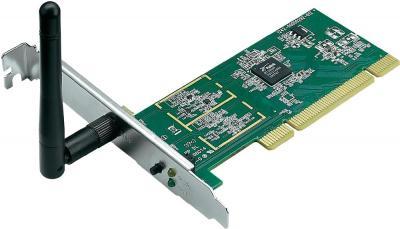 Беспроводной адаптер Asus PCI-N10 - общий вид