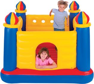 Батут надувной детский Intex Замок 48259 - общий вид