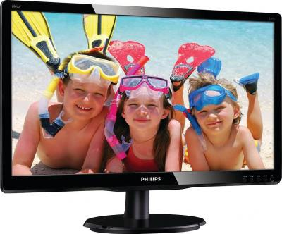 Монитор Philips 196V4LSB2 - общий вид