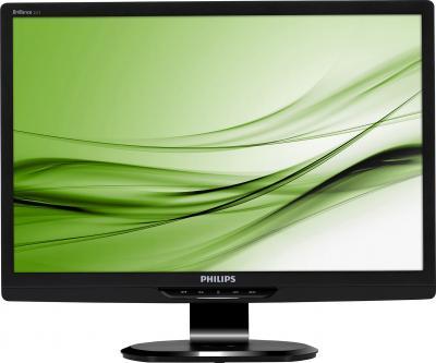 Монитор Philips 221S3LSB - фронтальный вид