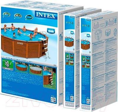Каркасный бассейн Intex Sequoia Spirit 54928/28382 (478х124) - в упаковке