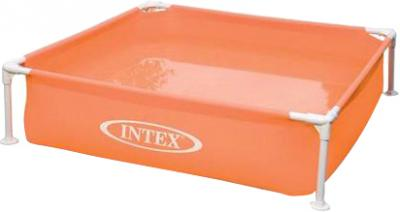 Каркасный бассейн Intex 57171NP (122x122x30) - варианты расцветки: оранжевый
