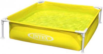 Каркасный бассейн Intex 57171NP (122x122x30) - варианты расцветки: желтый