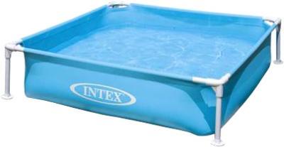 Каркасный бассейн Intex 57171NP (122x122x30) - варианты расцветки: голубой