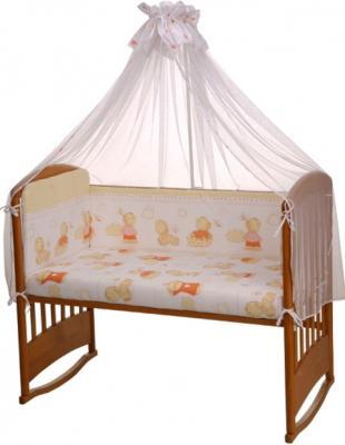 Комплект в кроватку Perina Ева Е4-01.2 (Мишки) - общий вид