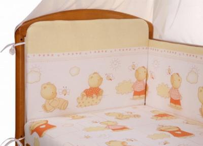 Комплект в кроватку Perina Ева Е4-01.2 (Мишки) - расцветка