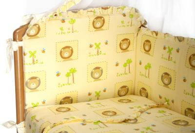 Комплект в кроватку Perina Роза Р6-04.0 (Львята) - расцветка