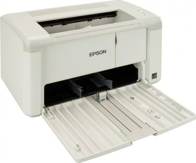 Принтер Epson AcuLaser M1400 - общий вид (открытый лоток)