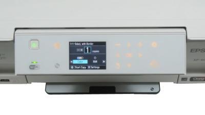 МФУ Epson Expression Premium XP-605 - дисплей и панель управления