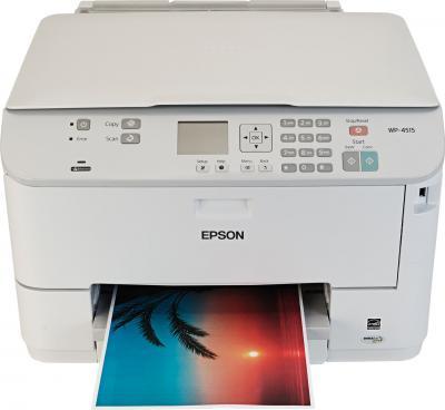 МФУ Epson WorkForce Pro WP-4515DN - фронтальный вид