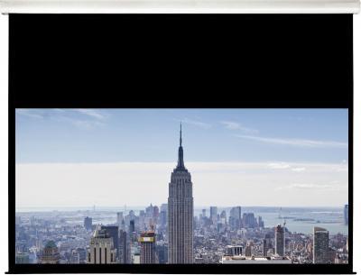 Проекционный экран Classic Solution Norma 244x244 (W 236x133/9 MW-L4/W) - общий вид