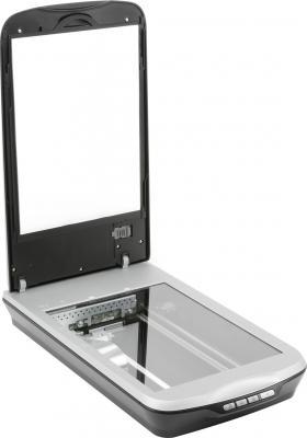 Планшетный сканер Epson Perfection V500 Photo - общий вид (открытый)