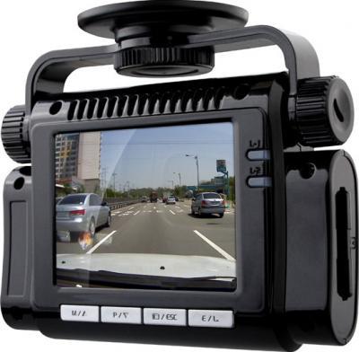 Автомобильный видеорегистратор Ritmix AVR-850 - общий вид (дисплей)