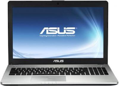 Ноутбук Asus N56VM-S3037D - фронтальный вид